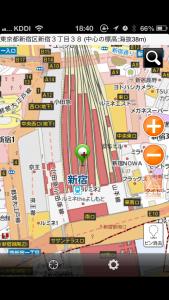 iOS6で使える地図 Mapion