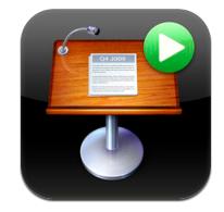 iPadのKeynoteをiPhoneで操作する