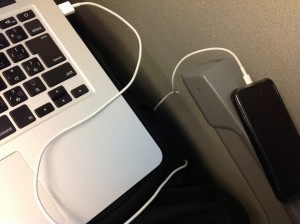 macboocairとiPhone5をのぞみで使いこなす方法