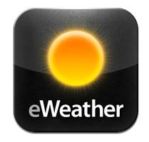 iPadminiで使うお天気アプリ