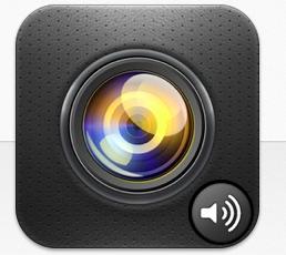 シャッター音が鳴らないiPhoneのカメラアプリ