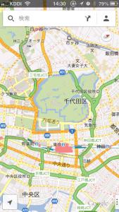 iOSの地図を回転する方法
