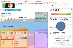 フェイスブックページを分析するツール