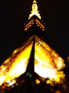 東京タワーの画像を加工