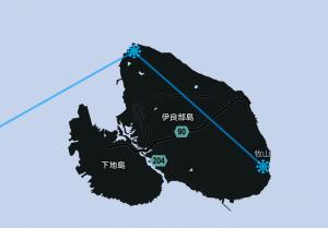 伊良部島でイングレス