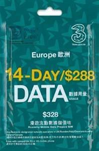ヨーロッパ SIMカード 設定 データ