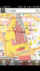 iPhoneでGoogleマップの代わりの地図は