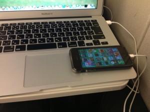 iPhoneとMacをのぞみの車内で使う方法