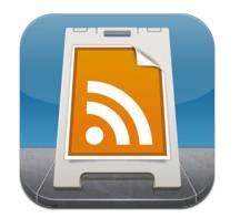 iPhone5でGoogleリーダーを見るアプリ