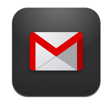iPhoneアプリ Gmail