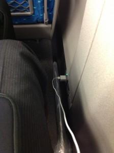 iPhone5を新幹線で使う