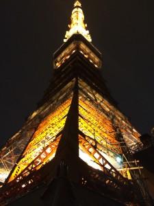 iPhoneで東京タワーの画像を加工する
