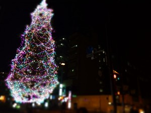 クリスマスツリー 画像加工 iPhone